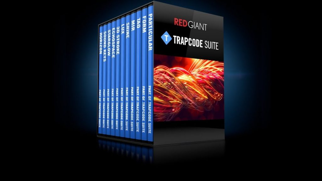 Red Giant Trapcode Suite 15 Crack + Serial Key Free Download
