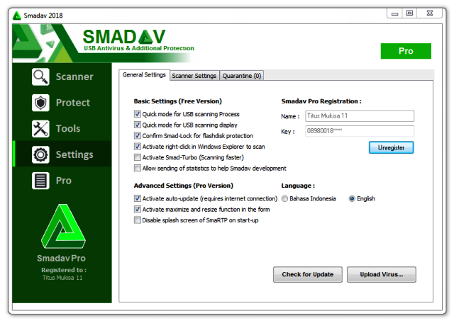 Smadav 2019 Rev 13.2 Crack Pro With Registration Key {Latest}