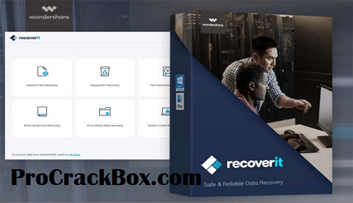 Wondershare Recoverit 8.0.4 Crack Full Torrent {Key + Code}