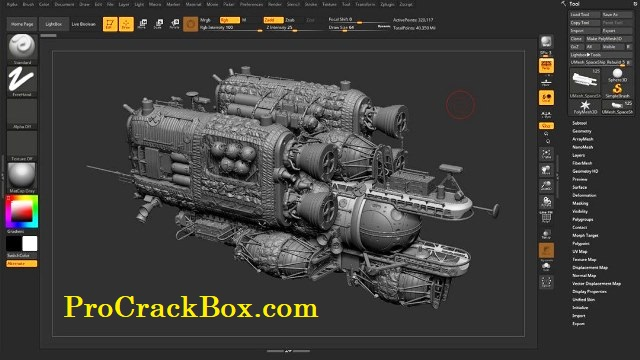 ZBrush 2019 2 Crack Torrent Free Download {Win/Mac}