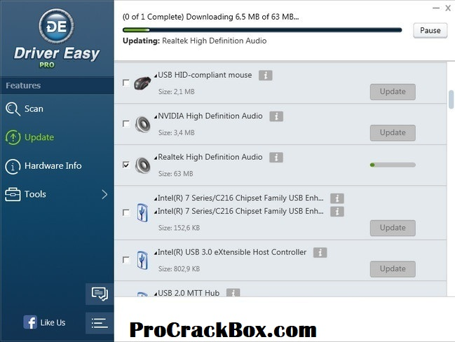 Driver Easy Pro 5.6.12 Crack With License Key Full Torrent Download