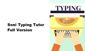 Soni Typing Tutor 4.1.82 Crack With Activation Key {Mac/Win}