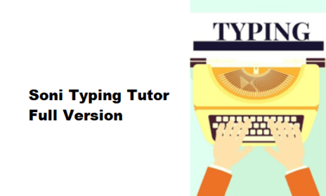 Soni Typing Tutor 4.1.92 Crack With Activation Key {Mac/Win}